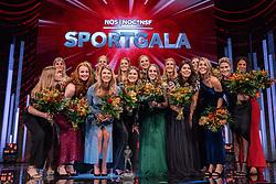 18-12-2019 NED: Sports gala NOC * NSF 2019, Amsterdam<br /> The traditional NOC NSF Sports Gala takes place in the AFAS in Amsterdam / Handbalsters, sportploeg van het jaar 2019