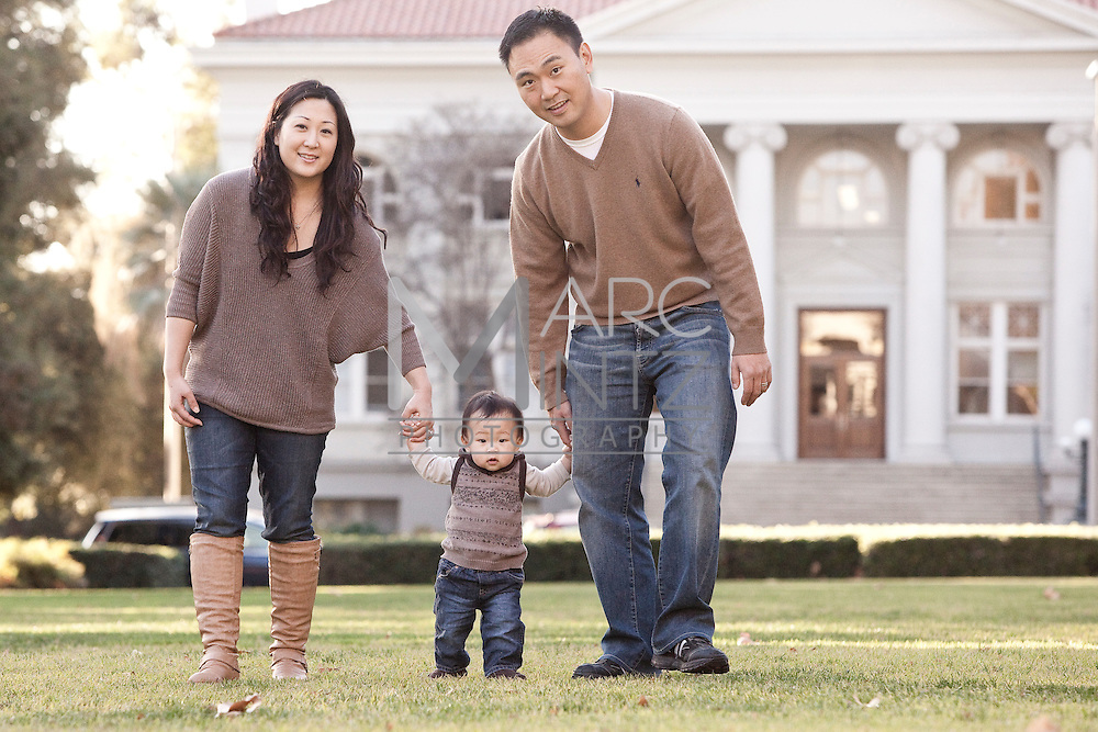 The Chos Family Portrait, Claremont, California