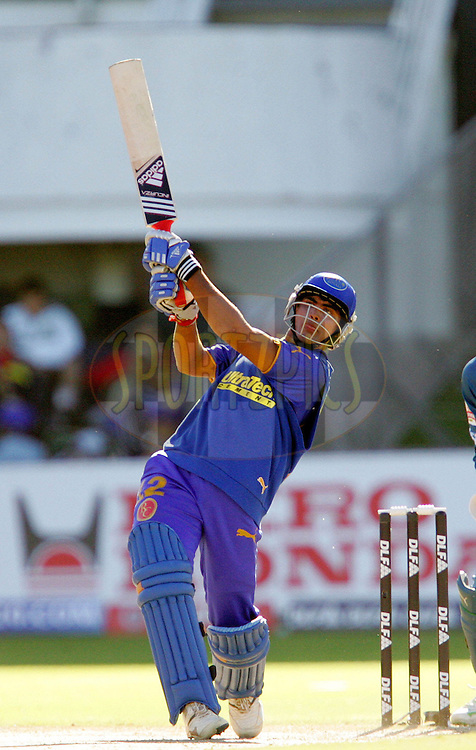 PORT ELIZABETH, SOUTH AFRICA - 02 May 2009. Lee Carseldine during the  IPL Season 2 match between the Deccan Chargers and the Rajatshan Royals held at St Georges Park in Port Elizabeth , South Africa..