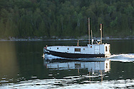 Traditional  Great Lakes commercial fishing boat in Sturgeon Bay