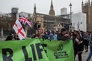 Some Leavers mixed up with Extinction Rebellion, London 23 April  2019
