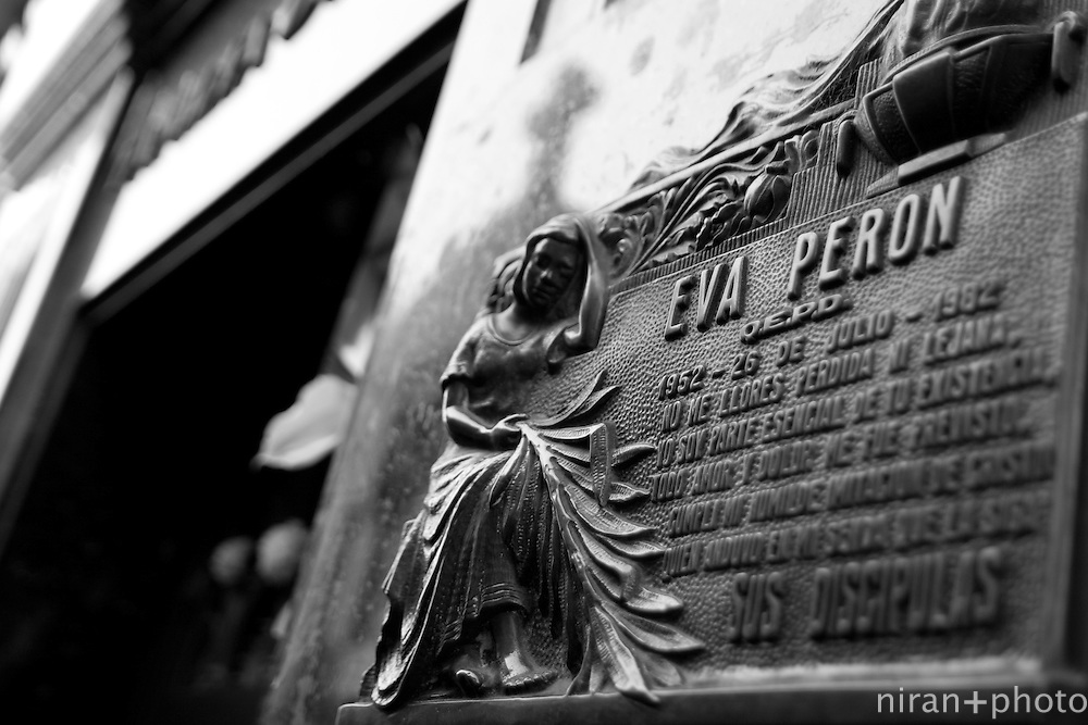 La Recoleta Cemtery - Eva Peron