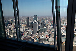 UK ENGLAND LONDON 21APR15 - View of the City of London skyline from The Shard, Europe's tallest building.<br /> <br /> <br /> <br /> jre/Photo by Jiri Rezac<br /> <br /> <br /> <br /> © Jiri Rezac 2015