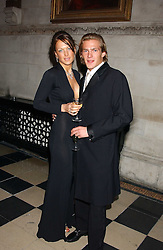 MISS EMILY CROMPTON and MR JACOBI ANSTRUTHER-GOUGH-CALTHORPE at Andy & Patti Wong's annual Chinese New Year party, this year celebrating the year of the dog held at The Royal Courts of Justice, The Strand, London WC2 on 28th January 2006.<br /><br />NON EXCLUSIVE - WORLD RIGHTS