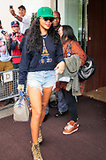 28.AUGUST.2012. LONDON<br /> <br /> RIHANNA LEAVES THE 45 HOTEL IN PARK LANE, LONDON<br /> <br /> BYLINE: EDBIMAGEARCHIVE.CO.UK<br /> <br /> *THIS IMAGE IS STRICTLY FOR UK NEWSPAPERS AND MAGAZINES ONLY*<br /> *FOR WORLD WIDE SALES AND WEB USE PLEASE CONTACT EDBIMAGEARCHIVE - 0208 954 5968*