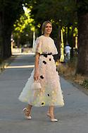 Elena Perminova at Giambattista Valli Couture FW2015