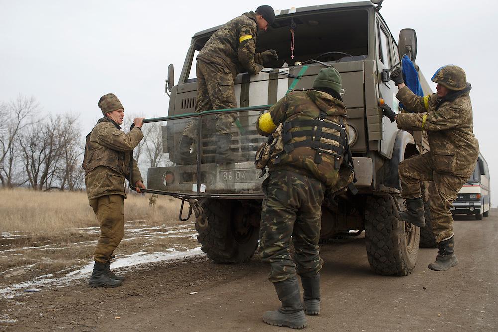 kyiv artemivsk road to debaltseve etc