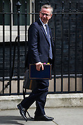 UNITED KINGDOM, London: 5 July 2016 Michael Gove leaves Downing Street after cabinet meeting. Pic by Andrew Cowie / Story Picture Agency