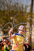 06 FEBRUARY 2011 - PHOENIX, AZ: CHANTIKA HAZELL, from the Metis Nation of Alerta, Canada, performs at the 21st Annual Heard Museum World Championship Hoop Dance Contest at the Heard Museum in Phoenix, AZ, Sunday, February 6. Hoop dancing has a long tradition among Native American peoples. The hoop or circle is symbolic to most Native people. It represents the Circle of Life and the continuous cycle of summer and winter, day and night, male and female. Some native people use hoop dancing as a part of healing ceremonies designed to restore balance and harmony in the world.      Photo by Jack Kurtz