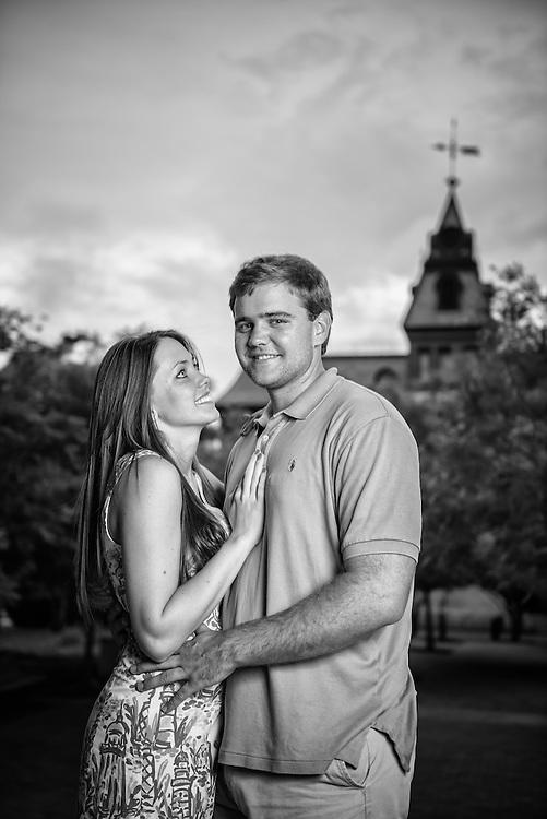 Robbie and Kasi Engagement | New Bern Photographers
