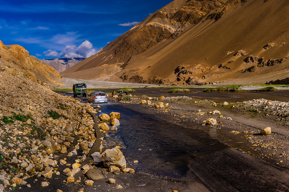 Pangong Lake Road, Ladakh, Jammu and Kashmir State, India.