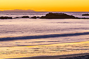 Laguna Beach Sunset Over Bird Rock