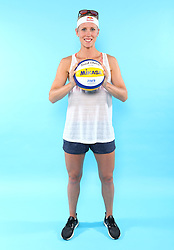 07.06.2016, Hamburg, GER, DVV Beachvolleyball, Fototermin, Nationalmannschaft, Olympische Spiele, Rio 2016, im Bild Karla Borger (GER) // Karla Borger of Germany during photocall of German Beach Volleyball team of German Cycling Federation for the Olympic games, Rio 2016. Hamburg, Germany on 2016/06/07. EXPA Pictures © 2016, PhotoCredit: EXPA/ Eibner-Pressefoto<br /> <br /> *****ATTENTION - OUT of GER*****