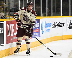 Gleb Babintsev of the Peterborough Petes. Photo by Aaron Bell/OHL Images