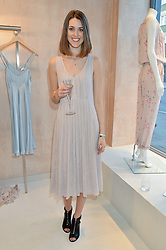 CHLOE HERBERT at a party to celebrate the re-launch of the Ghost Flagship store at 120 King's Road, London on 15th April 2015.