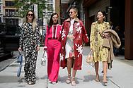 Charlotte Groeneveld, Evangelie Smyrniotaki, Danielle Bernstein and Tina Leung at Valentino Resort 2018