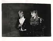 Boris Johnson and Allegra Mostyn-Owen. Christchurch Commen Ball. Oxford. 1987
