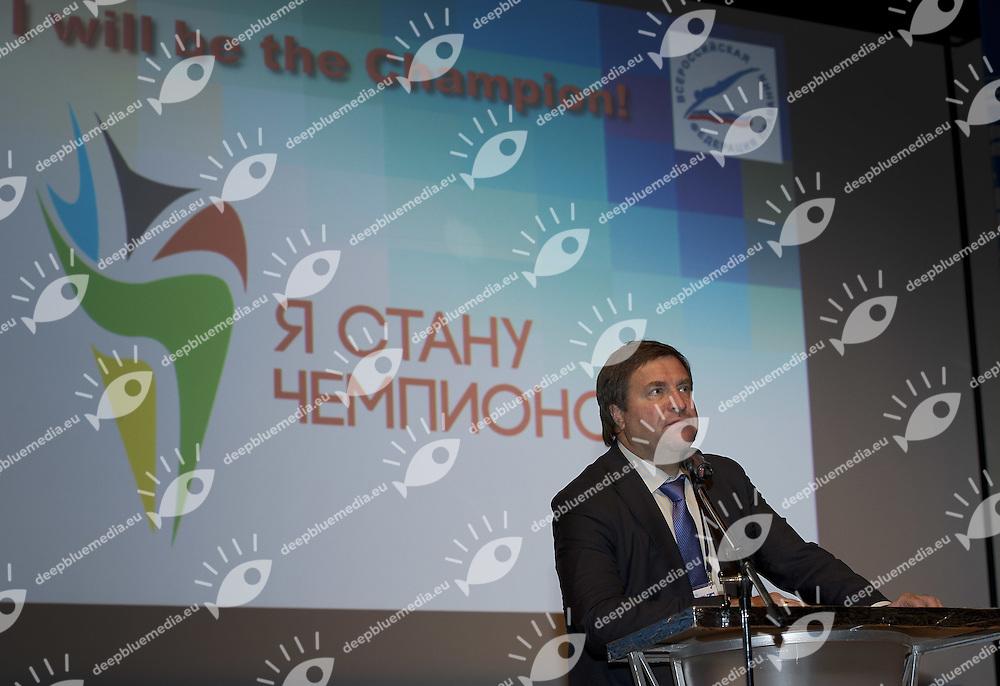 II FINA World Aquatics Convention<br /> Moscow Russia oct. 30th, Nov. 1st, 2012<br /> Opening Oct. 31th<br /> Photo G.Scala/Deepbluemedia/Insidephoto