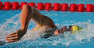 Australia's Grant Hackett swims in the men's 400m Freestyle final at the FINA World Championships in Montreal, Canada Sunday 24 July, 2005. Hackett won the gold medal with a time of 3:44.63.