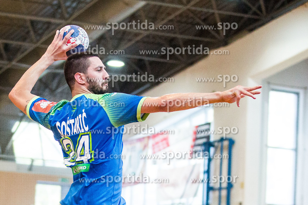Mario Sostaric during friendly match between Slovenia and Austria in Cerklje na Gorenjskem, Slovenia on 8th of June, 2019 .Photo by Peter Podobnik / Sportida