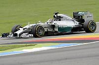 Lewis Hamilton (Mercedes)<br /> Formel 1, Grosser Preis Santander von Deutschland 2014, Hockenheimring<br /> Norway only<br /> F1