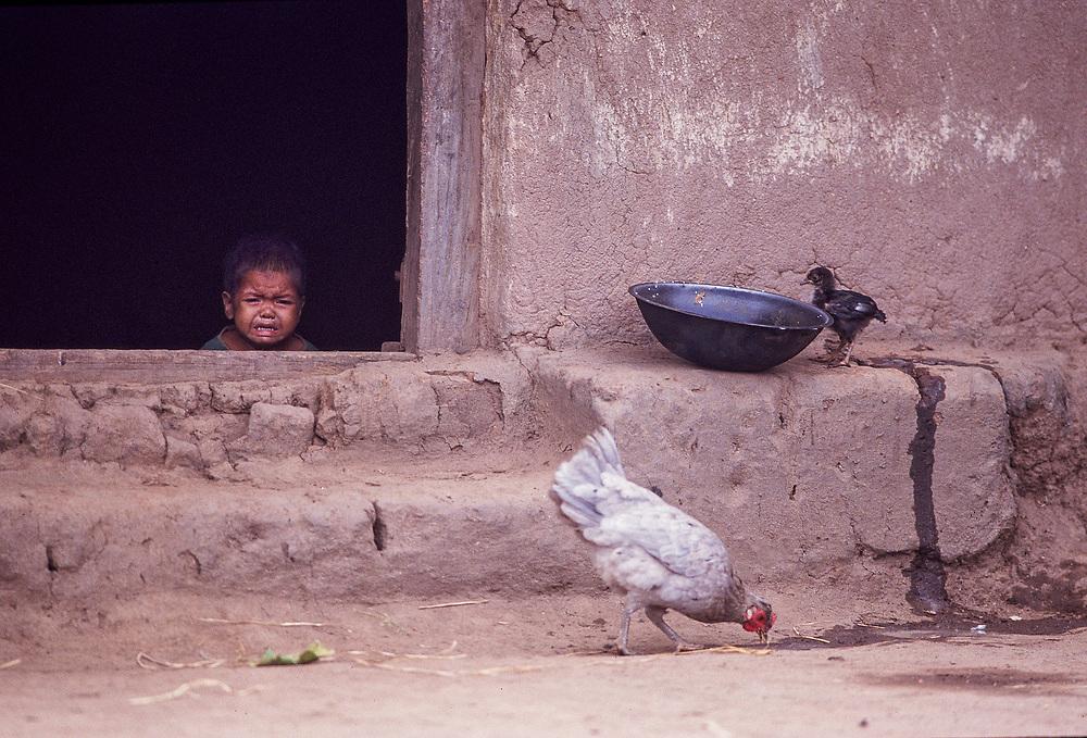 Tribal Village, Jharkhand, India. Asiaweek Magazine.