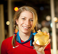 20100214 - Olympian Hannah Kearney Gold Medal