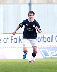 Falkirk's Kris Faulds..Falkirk 3 v 0 Queen of the South, 25/2/2012..© Michael Schofield.