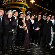 NLD/Amsterdam/20150126 - Premiere Michiel de Ruyter, cast,