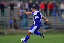Sinisa Jankovic  (10) of Nafta  at 12th Round of PrvaLiga Telekom Slovenije between NK Primorje vs NK Nafta Lendava, on October 5, 2008, in Town stadium in Ajdovscina. Nafta won the match 2:1. (Photo by Vid Ponikvar / Sportal Images)