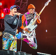 09-07-2016<br /> T in the Park 2016 - Sunday<br />  <br /> Red Hot Chilli Peppers ion main stage -      Anthony Kiedis (vocals) and Flea (bass),<br /> <br /> Pic:Andy Barr<br /> <br /> www.andybarr.com<br /> <br /> Copyright Andrew Barr Photography.<br /> No reuse without permission.<br /> andybarr@mac.com<br /> +44 7974923919