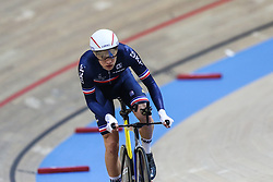 March 1, 2019 - Pruszkow, Poland - Clement Davy (FRA) - Individual pursuit on day three of the UCI Track Cycling World Championships held in the BGZ BNP Paribas Velodrome Arena on March 01, 2019 in Pruszkow, Poland. (Credit Image: © Foto Olimpik/NurPhoto via ZUMA Press)