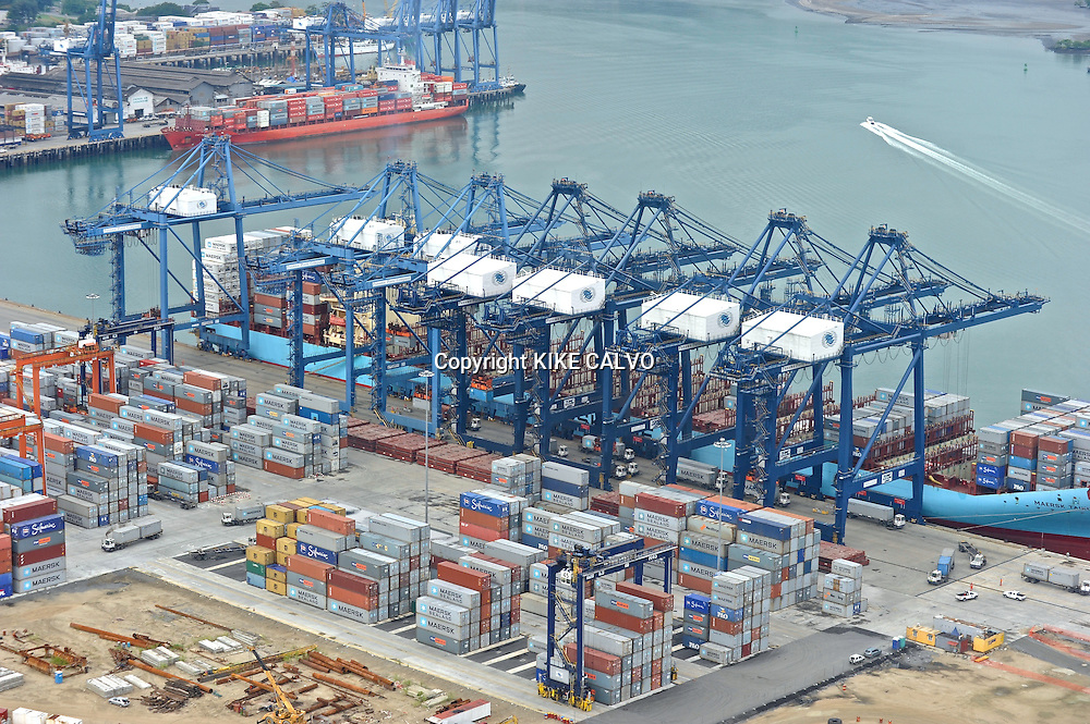 The Port of Balboa, operated by Panama Ports Company (PPC) - the Panama-based subsidiary of the HPH Group.