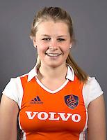 AMSTELVEEN - BRITTA VAN DER KLAAUW, Nederlands Meisjes B hockey. Foto KOEN SUYK