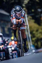 06.07.2019, Wels, AUT, Ö-Tour, Österreich Radrundfahrt, Prolog, Einzelzeitfahren (2,5 km), im Bild Florian Gamper (Tirol KTM Cycling Team, AUT) // during the prolog, Individual time trial (2,5 Km) of the 2019 Tour of Austria. Wels, Austria on 2019/07/06. EXPA Pictures © 2019, PhotoCredit: EXPA/ JFK