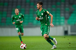 Mario Jurcevic during football match between NK Olimpija Ljubljana and Aluminij in Round #9 of Prva liga Telekom Slovenije 2018/19, on September 23, 2018 in Stozice Stadium, Ljubljana, Slovenia. Photo by Morgan Kristan
