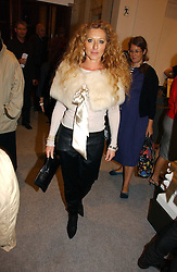 Interior designer KELLY HOPPEN at a reception to celebrate the opening of 'USA Today' - an exhibition of work from The Saatchi Gallery held at The Royal Academy of Arts, Burlington Gardens, London on 5th September 2006.<br /><br />NON EXCLUSIVE - WORLD RIGHTS