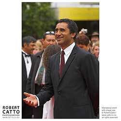 Actor Cliff Curtis at the premiere of the film River Queen in Wanganui, New Zealand.<br />