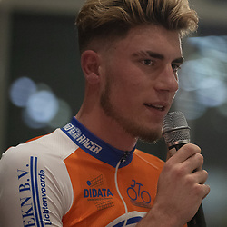 16-02-2019: Wielrennen: Teampresentatie Kanjers voor Kanjers: Hengelo
