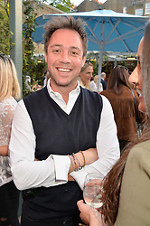 PICTURE SHOWS:-DAN PHILLIPSON.<br /> Tuesday 14th April 2015 saw a host of London influencers and VIP faces gather together to celebrate the launch of The Ivy Chelsea Garden. Live entertainment was provided by jazz-trio The Blind Tigers, whilst guests enjoyed Moët & Chandon Champagne, alongside a series of delicious canapés created by the restaurant's Executive Chef, Sean Burbidge.<br /> The evening showcased The Ivy Chelsea Garden to two hundred VIPs and Chelsea<br /> residents, inviting guests to preview the restaurant and gardens which marry<br /> approachable sophistication and familiar luxury with an underlying feeling of glamour and theatre. The Ivy Chelsea Garden's interiors have been designed by Martin Brudnizki Design Studio, and cleverly combine vintage with luxury, resulting in a space that is both alluring and down-to-earth.