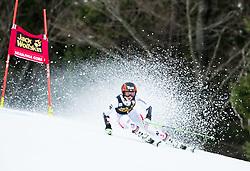 "Stephanie Brunner (AUT) competes during 1st Run of the FIS Alpine Ski World Cup 2017/18 5th Ladies' Giant Slalom race named ""Golden Fox 2018"", on January 6, 2018 in Podkoren, Kranjska Gora, Slovenia. Photo by Ziga Zupan / Sportida"