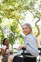 Businesswomen Outdoors