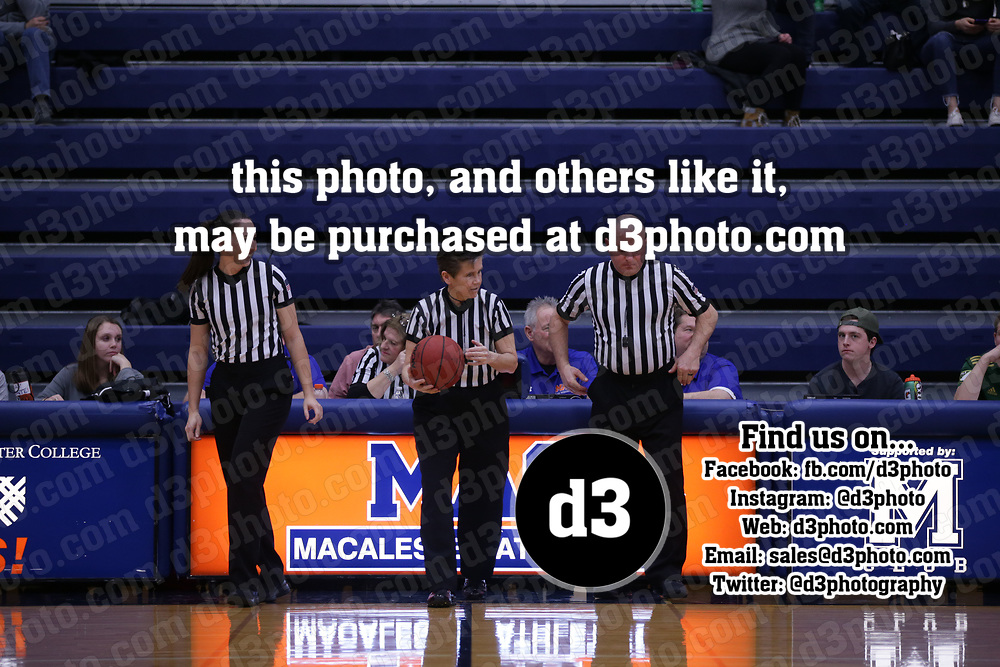 Women's Basketball: Macalester College Scots vs. Gustavus Adolphus College Gusties