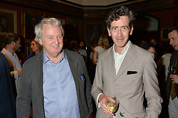 Left to right, ROBERT KIME and EDWARD HURST at a party to celebrate the publication of English Houses by Ben Pentreath held at the Art Worker's Guild, 6 Queen Square, London on 28th September 2016.