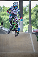 #285 (OEGEMA Rinke) NED at Round 5 of the 2019 UCI BMX Supercross World Cup in Saint-Quentin-En-Yvelines, France