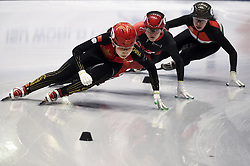 February 8, 2019 - Torino, Italia - Foto LaPresse/Nicolò Campo .8/02/2019 Torino (Italia) .Sport.ISU World Cup Short Track Torino - 500 meter Ladies Heats.Nella foto: Yize Zang..Photo LaPresse/Nicolò Campo .February 8, 2019 Turin (Italy) .Sport.ISU World Cup Short Track Turin - 500 meter Ladies Premliminaries.In the picture: Yize Zang (Credit Image: © Nicolò Campo/Lapresse via ZUMA Press)