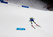 PYEONGCHANG-GUN, SOUTH KOREA - FEBRUARY 13: Stina Nilsson of Sweden during the Womens Individual Sprint Classic Finals on day four of the PyeongChang 2018 Winter Olympic Games at Alpensia Cross-Country Skiing Centre on February 13, 2018 in Pyeongchang-gun, South Korea. Photo by Nils Petter Nilsson/Ombrello               ***BETALBILD***