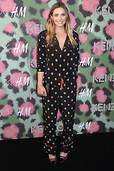 Elizabeth Olsen beim Kenzo x H&M Collection Launch Event am Pier 36. New York / 191016<br /> <br /> *** Kenzo x H&M Collection Launch Event at Pier 36. in New York, USA, October 19, 2016 ***