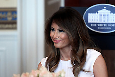 First Lady Melania Trump hosts the Governor Spouses Luncheon - 26 Feb 2018