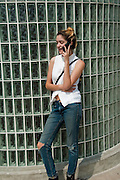Teenager lap Hi Tech Lifestyle Communicating